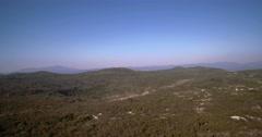 Aerial, Landscape, Farmland, Niksic, Montenegro Stock Footage