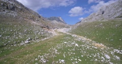 Aerial, Durmitor National Park, Montenegro Stock Footage