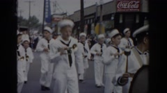 1965: the marching band at work. SAINT LOUIS MISSOURI Arkistovideo