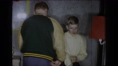 1965: a boy dances through the years. SAINT LOUIS MISSOURI Stock Footage