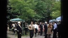 1972: oh the joys of graduation day. PHILADEPHIA PENNSYLVANIA Stock Footage