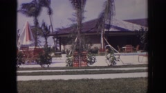 1973: everyone's gone indoors, vacating the fun spaces Stock Footage