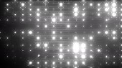 VJ Disco grey spectrum lights. Stock Footage
