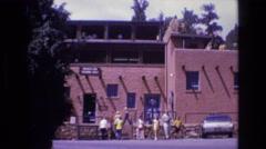 1973: people visit famous landmark COLORADO Stock Footage