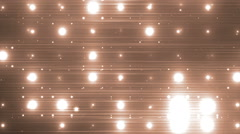 VJ Disco gold spectrum lights. Stock Footage