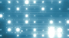 VJ Disco blue spectrum lights. Stock Footage