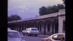1973: cars driving on the street NEW MEXICO Stock Footage