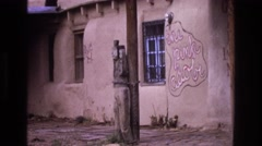 1973: the windows which reflected light NEW MEXICO Stock Footage