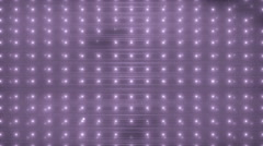 VJ Disco violet spectrum lights. Stock Footage