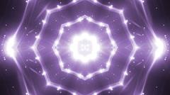 VJ Lights Violet Flashing Spot light. Stock Footage