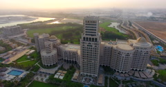 Waldorf Astoria close up Ras Al Khaimah Stock Footage