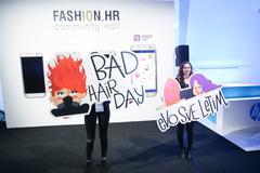 Viber sticker, Bipa Fashion.hr, Zagreb, Croatia. Stock Photos