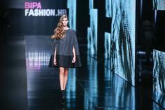 Bipa Fashion.hr fashion show: AnaBo. by Ana Bogdan, Zagreb, Croatia. Stock Photos