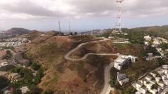 Aerial Twin Peaks Stock Footage