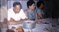 10202 african american black people table HD Footage