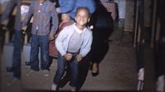 Little Black Girl Dancing African American 60s Vintage Film Home Movie 10195 Stock Footage