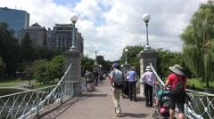 Boston Common, Boston, MA. Stock Footage