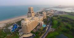 Waldorf Astoria Ras Al Khaimah Stock Footage