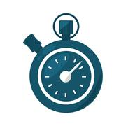 Chronometer counter isolated icon Piirros