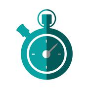 Chronometer counter isolated icon Stock Illustration