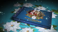 Holiday Memories Book Stock After Effects