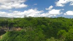 Chamarel waterfall, Mauritius Stock Footage