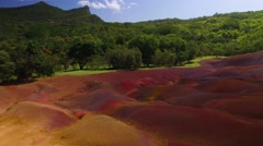 Earth Of Seven Colors, Mauritius Stock Footage