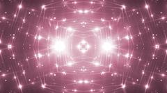 VJ Lights Pink Flashing Spot light. Stock Footage