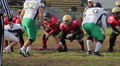 Football players lost the ball, failed attempt to win the championship, sport HD Footage