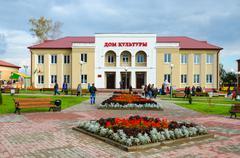 District House of Culture, Senno, Vitebsk region, Belarus Stock Photos