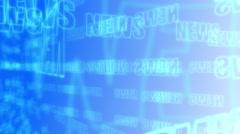 Breaking news motion graphics Arkistovideo