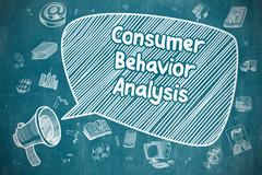 Consumer Behavior Analysis - Business Concept Stock Illustration