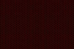 Brushed metal hexagon grille Stock Illustration