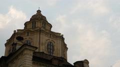 Cupola of the Church of San Lorenzo Stock Footage