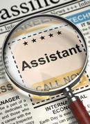 Assistant Join Our Team. 3D Stock Illustration