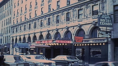 New York 1977: Hotel Paramount Stock Footage
