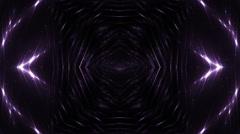 VJ Fractal volet kaleidoscopic background. Stock Footage