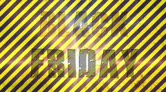 Abstract Black Friday Sale footage Stock Footage