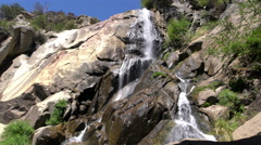 Kings Canyon 01 Grizzly Falls 4K Stock Footage