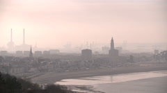 General view of Le Havre Stock Footage