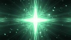 VJ Fractal neon kaleidoscopic background. Stock Footage