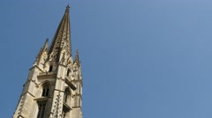 Basilica of St. Michael, Bordeaux Stock Footage