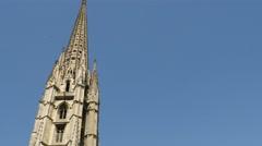 Basilica of St. Michael, Bordeaux Stock Footage