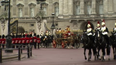 Buckingham Palace London Stock Footage