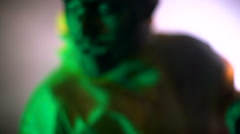 Zombies burned in the room Stock Footage