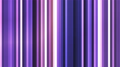 Broadcast Twinkling Vertical Hi-Tech Bars, Purple, Abstract, Loopable, 4K Stock Footage