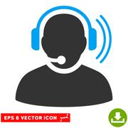 Operator Signal Vector Eps Icon Stock Illustration