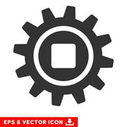 Cog Vector Eps Icon Stock Illustration