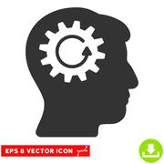 Head Gear Rotation Vector Eps Icon Stock Illustration