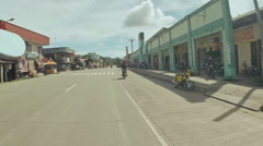 ANDA, BOHOL, PHILIPPINES -: Philippine city in motion. Bohol Stock Footage